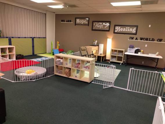 Our Infant/Wobbler space at a glance!